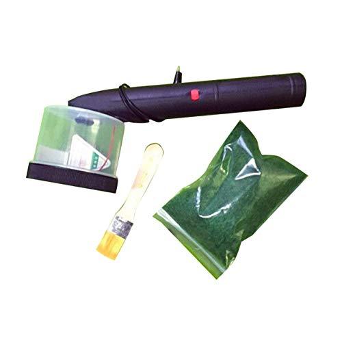 Konstruktion Sand Tisch Modell Werkzeug Elektrostatisches Gras Pflanzgefäß Handwerk Flockmaschine Maschine Version-Schwarz (BCVBFGCXVB)