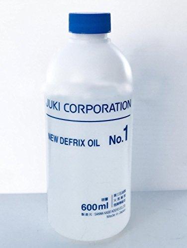 Juki Genuine Defrix Sewing Machine Oil (No.1) - 600ml Original Juki Oil (Japan Import)