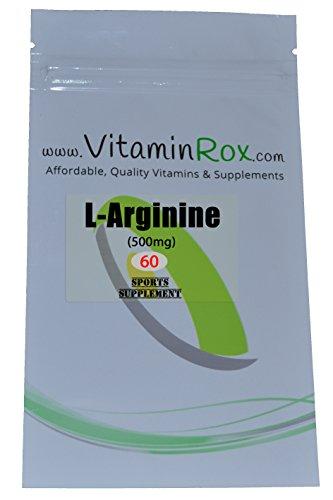 L-Arginina [500 mg] - 60 Cápsulas | Suplemento Deporte