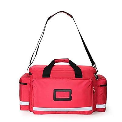 SHKY First Aid Responder Bag Empty Trauma Bag, Trauma, Rescue, Medical, First Aid, Nurse, Paramedic Multi Pocket Bag, Emergency Supplies Not Included by SHKY