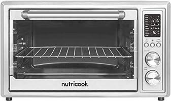 Nutricook Smart Air Fryer Oven by Nutribullet, 1800 Watts, LED Control Panel Display, 12-in-1 Multi use Air Fryer...