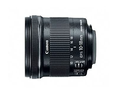 Canon EF-S 10-18mm f/4.5-5.6 is STM Lens from Canon