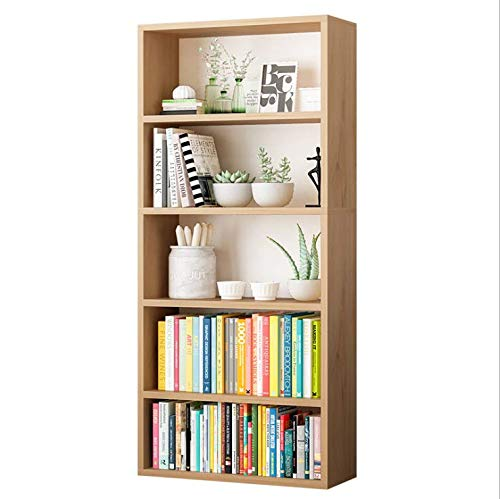YOUKE Modern Shelved Floor Cabinet,Armadietto Autoportante da Bagno Corridoio Ripiano Regolabile Bianco Cucina Mobiletto in Legno con 4 Cassetti e Un/'Anta per Soggiorno