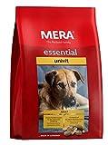 MERA essential Hundefutter  Univit  Für ausgewachsene Hunde mit normalem Aktivitätsniveau - Mix-Menü Trockenfutter mit Geflügel - Ohne Zucker & Konservierungsstoffe (12,5 kg)