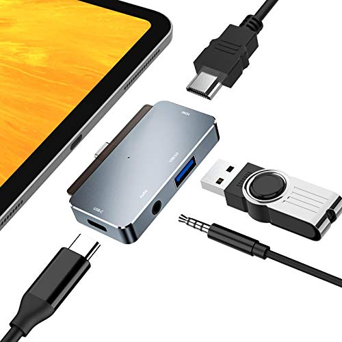 USB C Hub for iPad Pro, 4 in 1 Type C to...