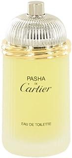 PASHA DE CARTIER by Cartier Men's Eau De Toilette Spray (Tester) 3.3 oz - 100% Authentic