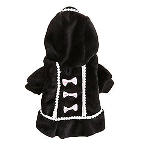 LINGERY Cute Dog Coat Jacket Pet Supplies Clothes Winter Apparel Puppy Costume