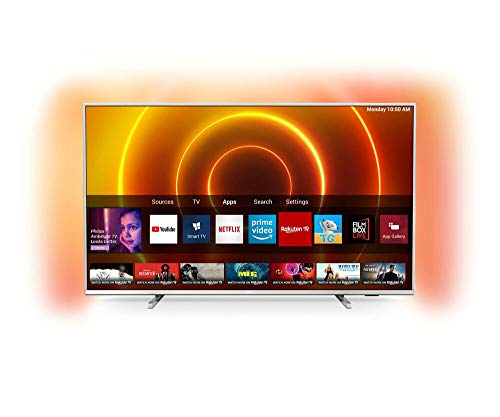 Philips 65PUS7855/12 LED-Fernseher, Silber, UltraHD/4K, WLAN, Ambilight, Dolby