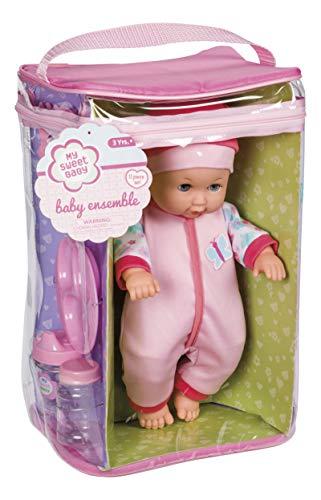 Toysmith 98229 Baby Ensemble Doll Plays