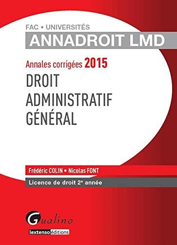 Droit administratif général 2015