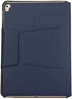 Renaisi Tastatur Ultrad nne intelligente Tastatur Schutz Ledertasche Abdeckung Bluetooth-Tastatur Wireless Air Phone Geeignet f r alle Computer  Color Blau