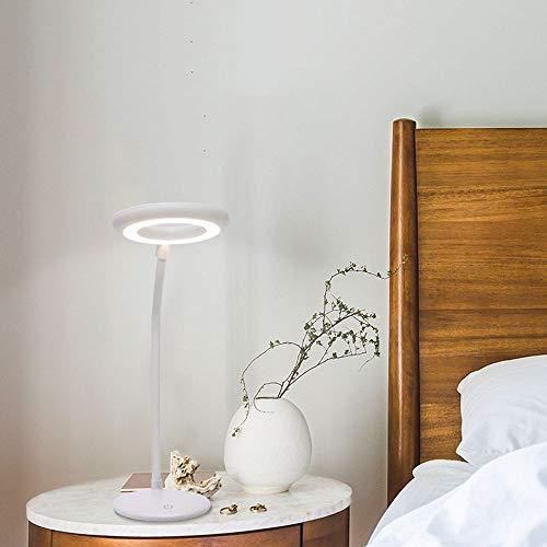 Xin Lámpara De Mesa LED, Lámpara De Mesa LED Regulable, Lámpara De Mesa De Protección Ocular De Carga For Niños, Lámpara De Escritorio De Estudio De Lectura Creativa, Lámpara De Escritorio De Oficina