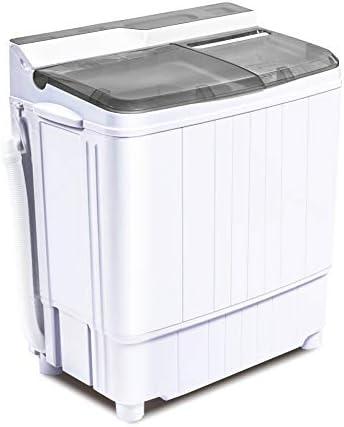 INTERGREAT Portable Washing Machine Mini 17 6 Lbs Compact Washer Machine And Dryer Combo w 11 product image
