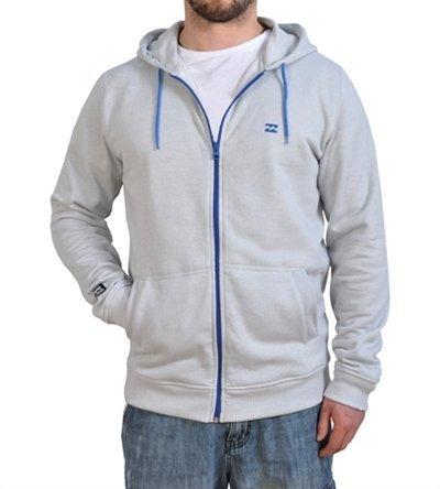 Billabong System Sweat à capuche zippé Taille S - Gris - Small