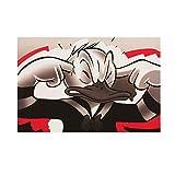 Wandbild Leinwand Keilrahmen Disney Donald Duck Kinder