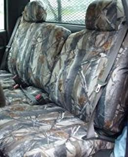 1999-2002 Chevy Silverado, Suburban, Tahoe, GMC Sierra,Yukon Front Exact Fit Seat Covers, Choose Seat Style,Color and Fabric (C988 40/20/40 Manual,no Center armrest, Camo Endura