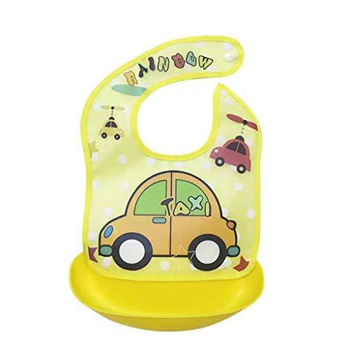 kenebo Premium Baby-Weaning, wasserfest, Silikon, wiederverwendbar, für Babys und Kleinkinder, Unisex Gr. 35*24, Einkaufstrolley