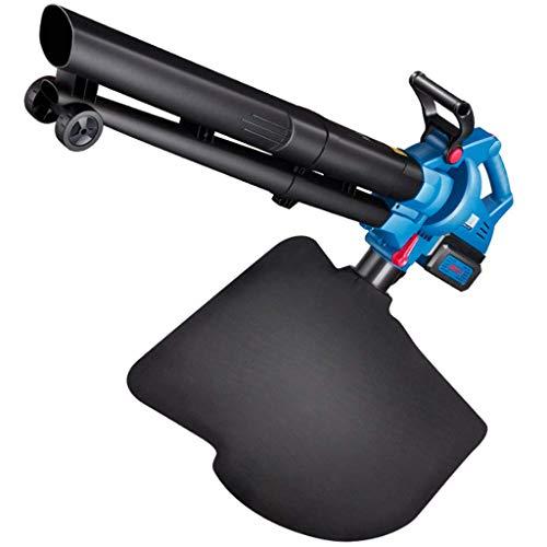 Elektrisches Gebläse Batterie und Ladegerät im Lieferumfang enthalten Hand Powered Laubsauger for Leichtbau Mehrzwecknutzung mit ergonomischem Griff Gebraucht Damp for Garten Reinigung (blau) yqaae