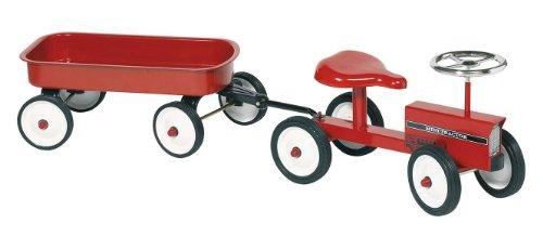Goki 14148 - Rutscher Traktor mit Anhänger