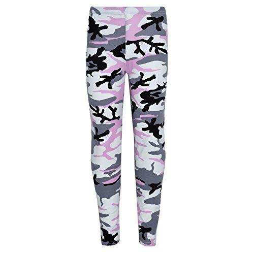 A2Z 4 Kids A2Z 4 Kids® Kinder Mädchen Tarnung Aufdruck - Baby Pink Camo Legging 13