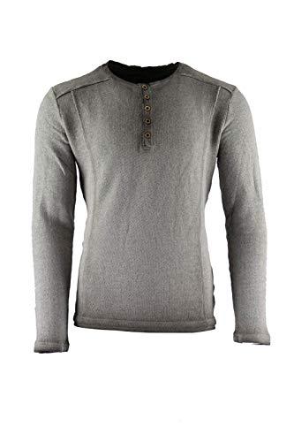 CP Abenteuer Mittelalter Hemd Shirt Zwergenhemd Heldenhemd grau Used Look (Large)