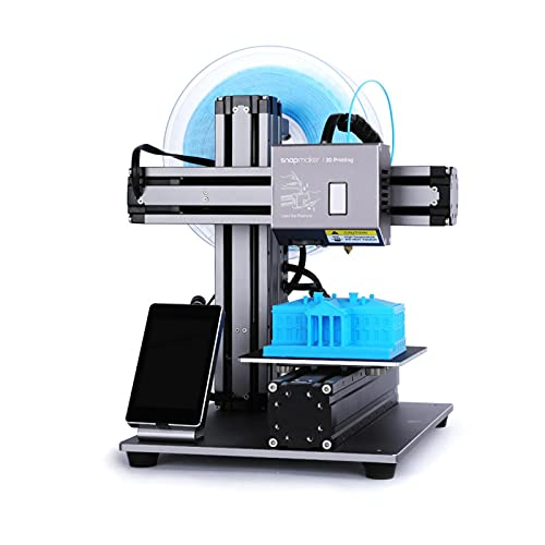 """snapmaker Original Entry-Level 3-in-1 3D Printer, CNC Carving, Laser Engraving Digital Tool With Easy to Use Software, Printing Volume (4.9""""x4.9""""x4.9"""")"""