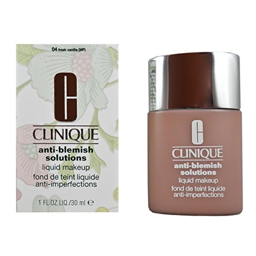 Clinique 28749 - Base de maquillaje Anti-Blemish Solutions Liquid Makeup, 04-Fresh Vanilla, 30 ml