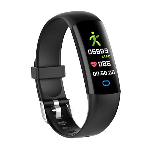 YoYoFit Lod Kids Health Fitness Tracker with Heart Rate Monitor,Sleep Monitor Blood Pressure Waterproof Activity Tracker Watch Smart Band Calorie Counter Step Counter Fitness Watch with 5 Sport Modes