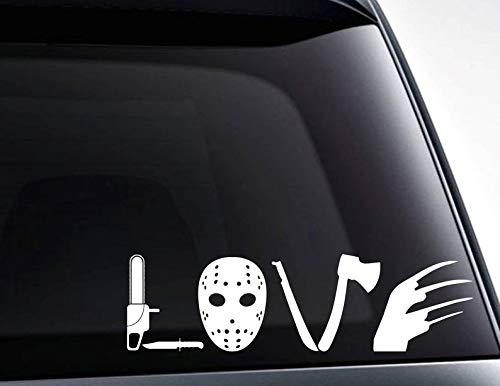 BYRON HOYLE Love Horror Movie die Cut Vinyl Decal Sticker for car Windows, laptops, Tablets, toolboxes and Much More/Vinyl Decals