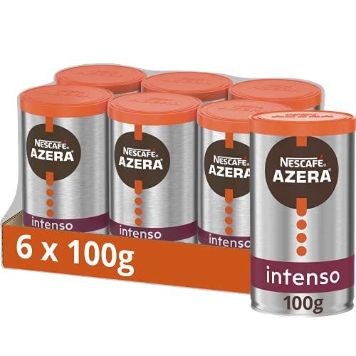 Nescafe AZERA Intenso Instant Coffee 100g (Pack of 6)