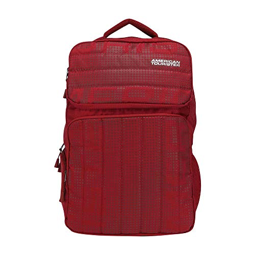 American Tourister 25 Ltrs Red Laptop Backpack (GH5 (0) 20 001)