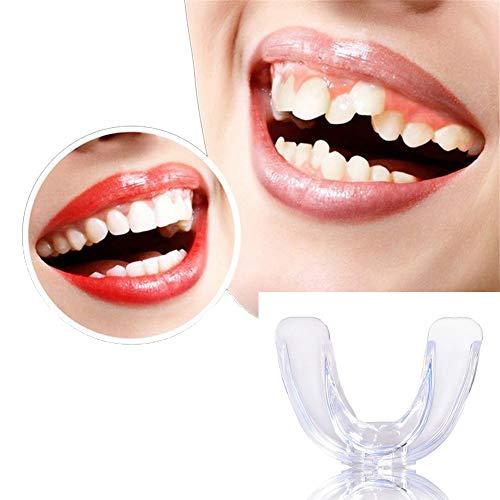 Dental Kieferorthopädische Zahnspangen ist komfortabel und sicher Zahnspangengerät für Erwachsene Zahnglättung kann für das Boxen der Zähne verwendet Werden (3 Stück)