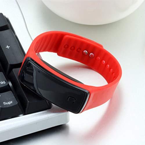 Logicstring Orologio da Polso Sportivo con Cinturino in Silicone a LED Creativo Leggero e Morbido per Uomo Donna