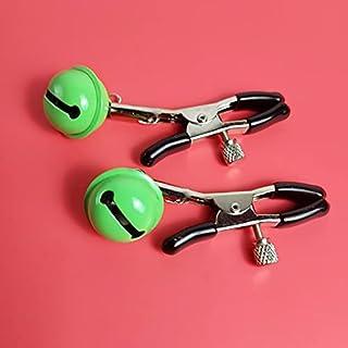 1 paar nippel klem sex bell borstklemmen clip labia klem stimulatie niet piercing nippel ringen sieraden for vrouwen (Colo...