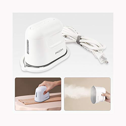 Bigzzia Garment Steamer for Clothes, 30s Fast Heat-up Portable Handheld Iron Steamers 850W for Home Travel Office
