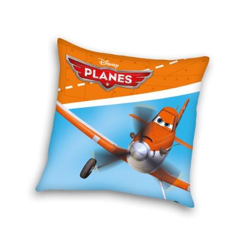 Herding 556418003 Kuschelkissen Planes, 40 x 40 cm, 100 % Polyester, gefüllt