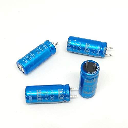 Condensatore Elettrolitico 4,7uF 50V 85°C Radiale 5x8mm capXon 4 pezzi