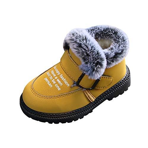 Chaussures premiers pas enfant 24, Chaussures bébé Enfants Enfant Enfant Filles Garçons Bottes Cheville Chaud Court Bootie Casual enfants 2.5-3 Ans Pas cher Bottines Baskets pour Saint-Patrick