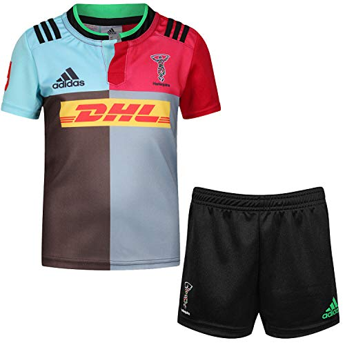 Harlequins 2015/16 Kids Home Replica Rugby Kit - size 2-3YRS