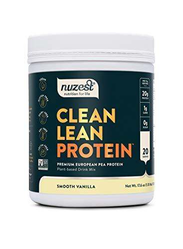 Nuzest Clean Lean Protein - Premium Vegan Protein Powder, Plant Protein Powder, European Golden Pea...