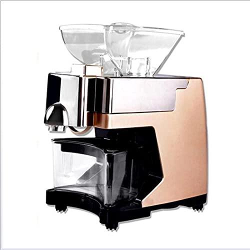 Máquina automática de prensa de aceite para el hogar, máquina inteligente de prensa de aceite multifuncional de aceite tipo de aceite de tipo frío para cacahuete colza, portátil