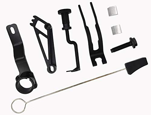 Engines Repair Tools Kit - Crankshaft Positioning Tool 303-448, Valve Spring Compressor, Cam Phaser Holding Tool,Timing Chain Locking Wedge Tool with Lockout & Pulley Bolt Compatible with Ford