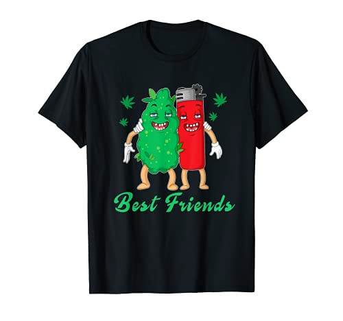 Funny best Friend Homies for Life Weed Marijuana Lover Dope T-Sh