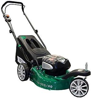 Güde 95880 Trike 405/40-2.5 S - Cortacésped con batería, verde/negro