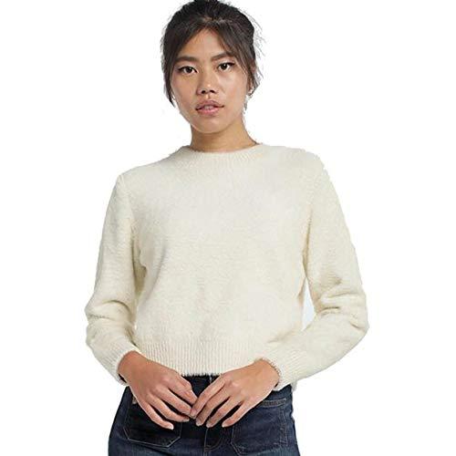 LOIS JEANS - Jersey para Mujer | Jersey Cropped Corto | sintético | Tallaje en Pulgadas | Talla Inch - L