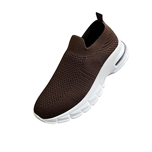 Chaussures Femme Baskets Air Cushion Running Sport Sneakers Mode Chaussures Légère Jogging Formateurs Baskets Femme Chaussure de Sport Légères et Confortables Fitness Outdoor Running Sneakers Basses