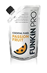 MIXOLOGIST PREFERRED: Funkin supplies the best bars and mixologists with award winning purées and syrups as well as producing a range of pre-batched natural fruit Funkin Cocktail Mixers PREMIUM SELECTED FRUIT: Funkin Passion Fruit Puree is made from ...