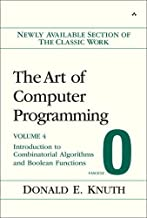 The Art of Computer Programming, Volume 4, Fascicle 0: Introduction to Combinatorial Algorithms and Boolean Functions