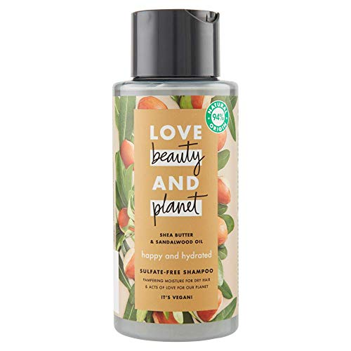 Love Beauty and Planet, shampoo, 2 x 400 ml (totaal: 800 ml)