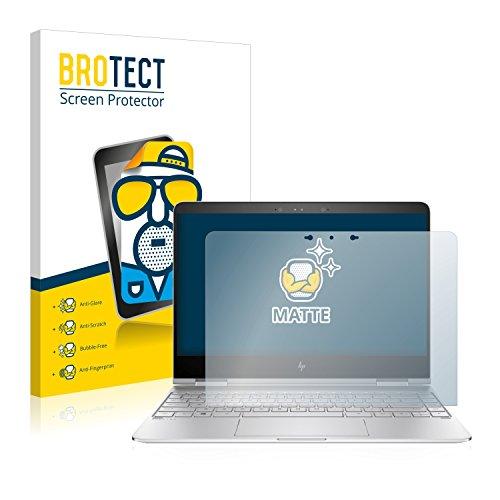 BROTECT Entspiegelungs-Schutzfolie kompatibel mit HP Spectre x360 13-w033ng Bildschirmschutz-Folie Matt, Anti-Reflex, Anti-Fingerprint